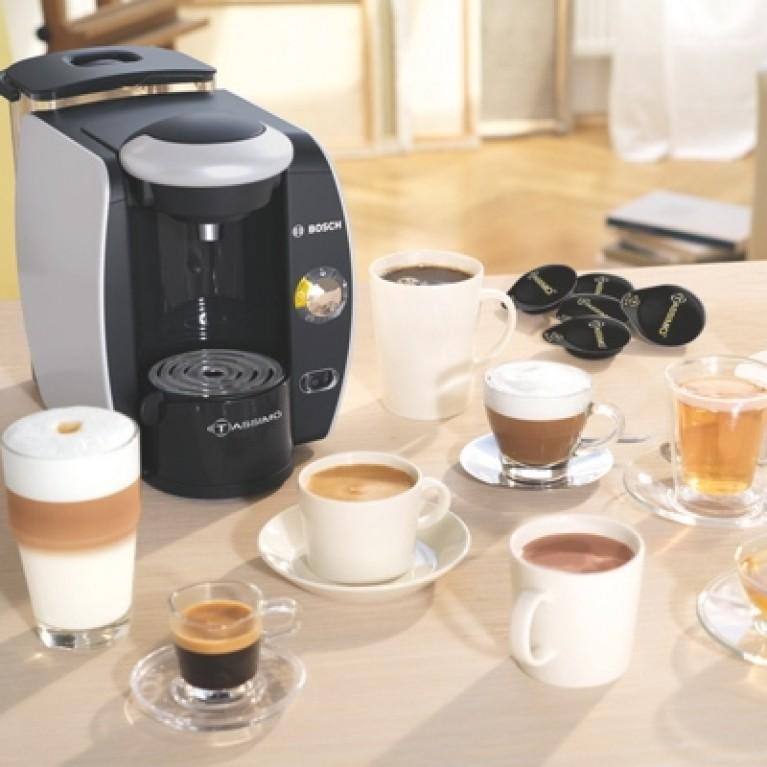 Кофемашины Tassimo от Bosch с Т-дисками семи видов.