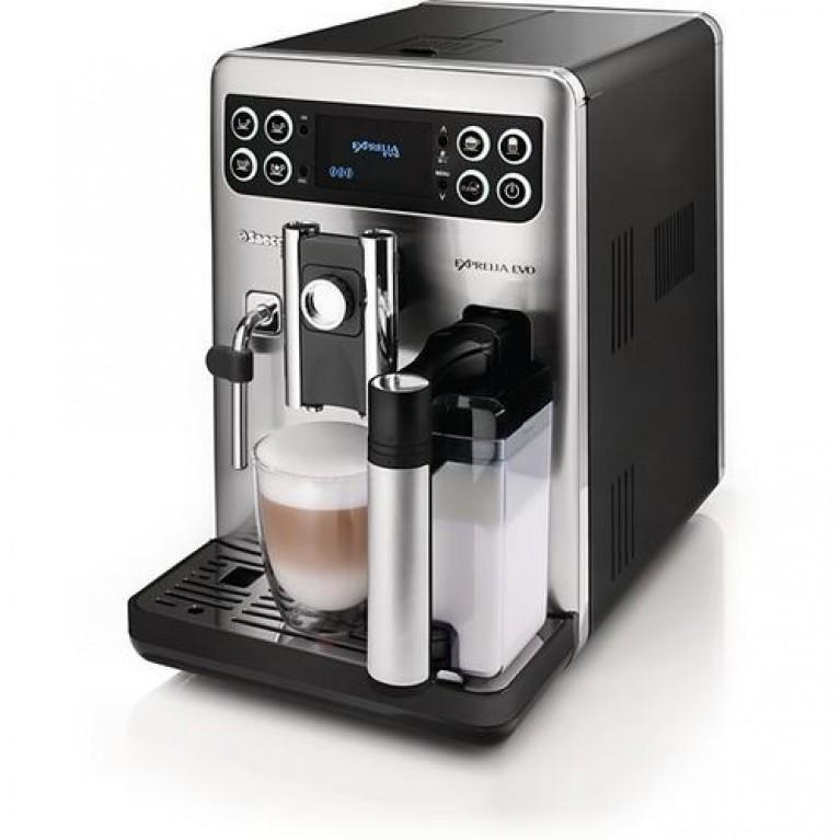 Новые кофемашины Philips Saeco Exprelia с упрощенным управлением.