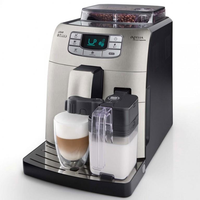 Кофемашина Philips Saeco Intelia Latte + для любителей капучино и латте маккиато.