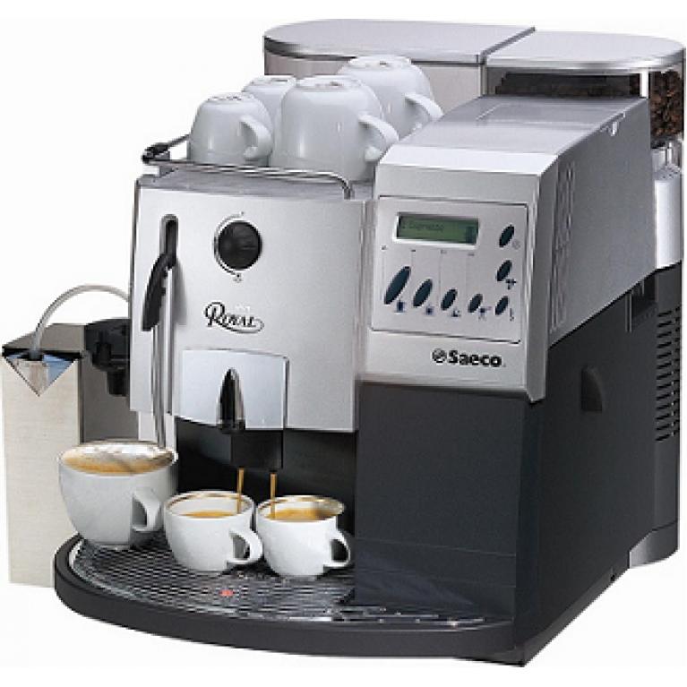 Обзор кофемашины Saeco Royal Coffee Bar