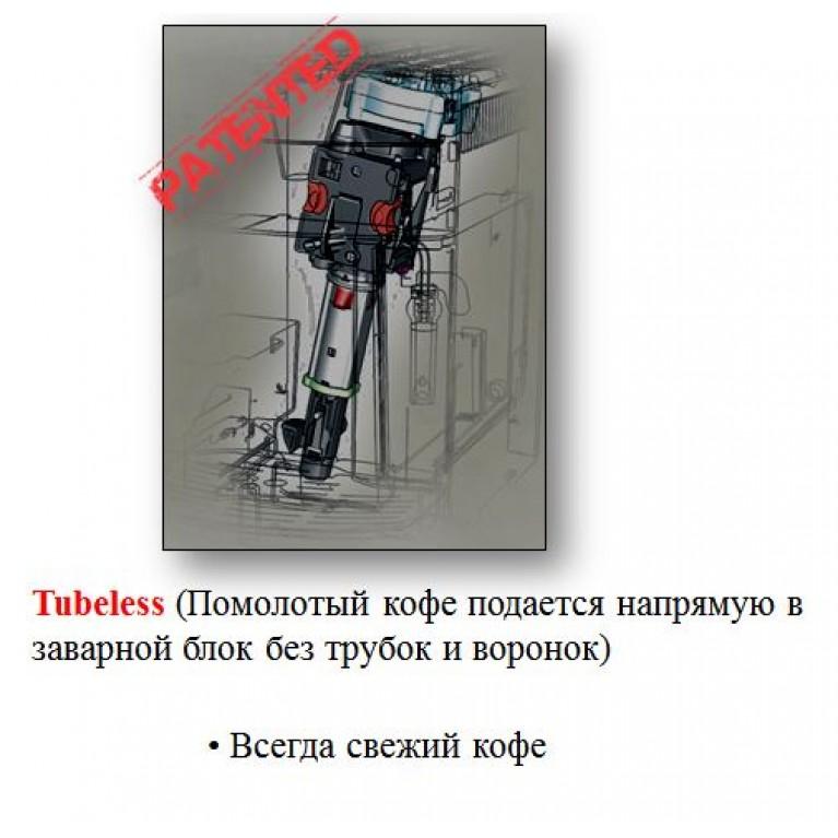 Уникальная система «Tubeless» от компании DeLonghi.