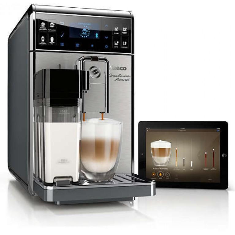 Кофемашина Philips Saeco GranBaristo приготовит до 15 напитков одним нажатием кнопки.