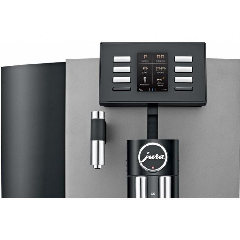 Кофемашина Jura X6 Dark Inox