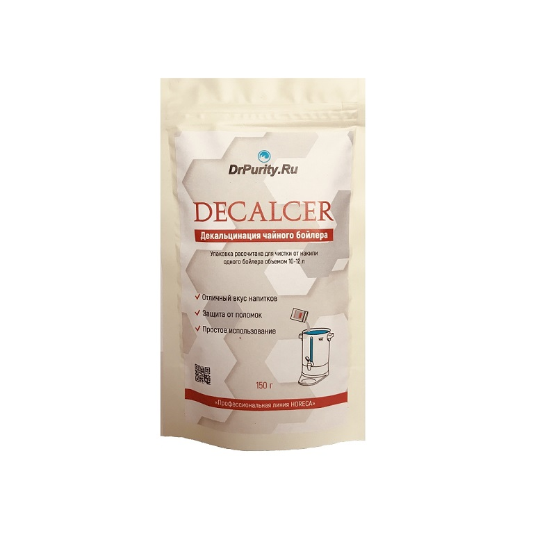 Порошок для чистки чайного бойлера Decalcer 150гр