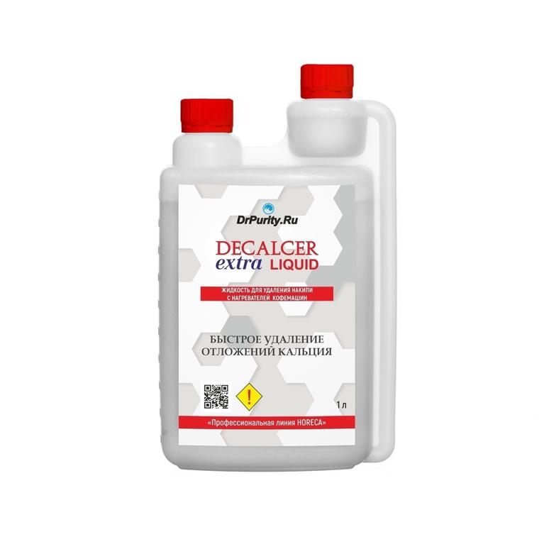 Жидкость для удаления накипи в кофемашинах Decalcer extra Liquid 1л