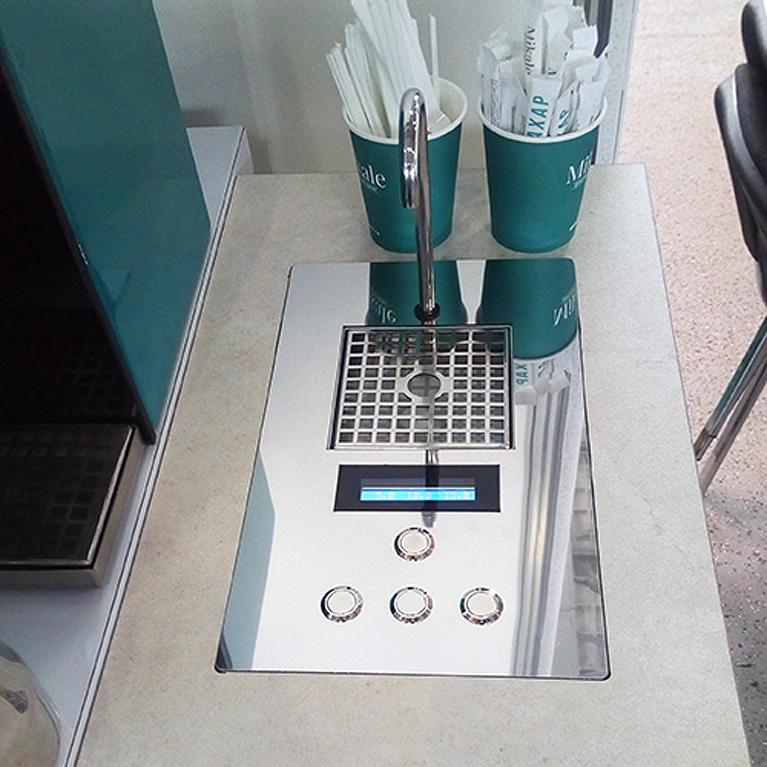 Дозатор молока автоматический встраиваемый EasySystem EasyMilk EM-02.1.1 с дисплеем