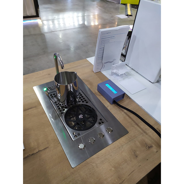 Дозатор молока автоматический встраиваемый EasySystem EasyMilk EM-02.2D.2 с выносным дисплеем и ринзером