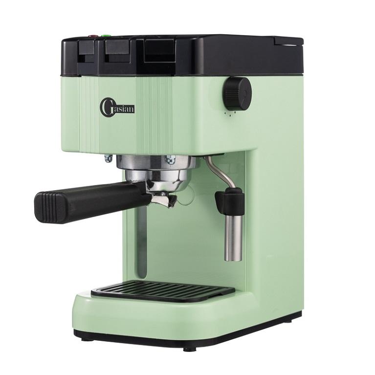 Кофеварка рожковая Gasian B15 ivory, verde
