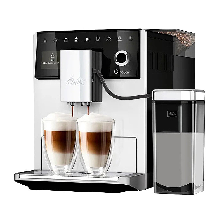 Кофемашина Melitta Caffeo CI Touch silver/black