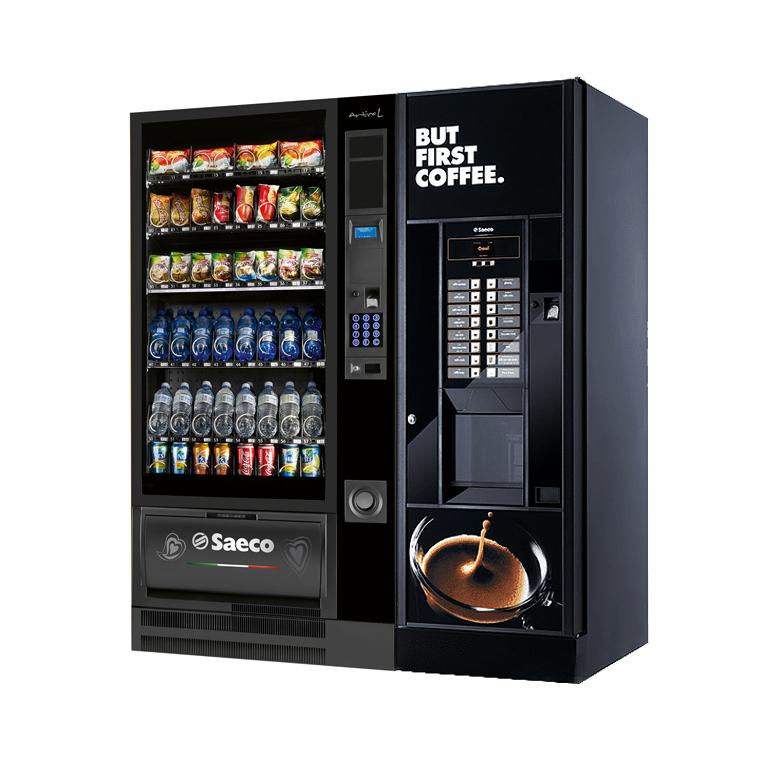 Комбинированные торговые автоматы Saeco Oasi 600 + Saeco Artico L Food