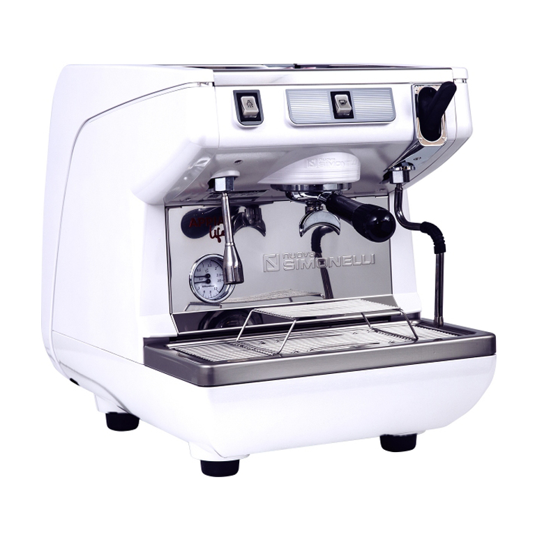 Кофемашина Nuova Simonelli Appia Life 1Gr S 220V white, black, red+high groups