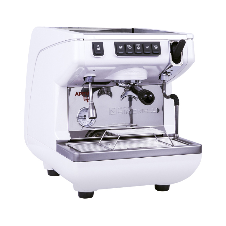 Кофемашина Nuova Simonelli Appia Life 1Gr V 220V white, black, red+high groups