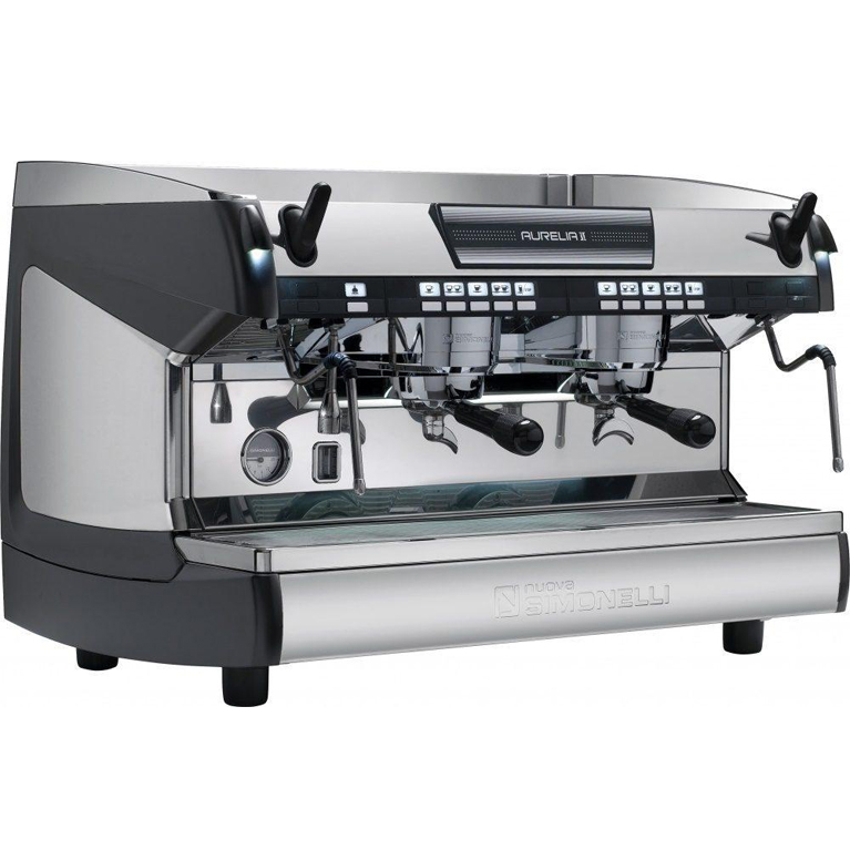 Кофемашина Nuova Simonelli Aurelia II Vol 2 gr black+high gr+LED