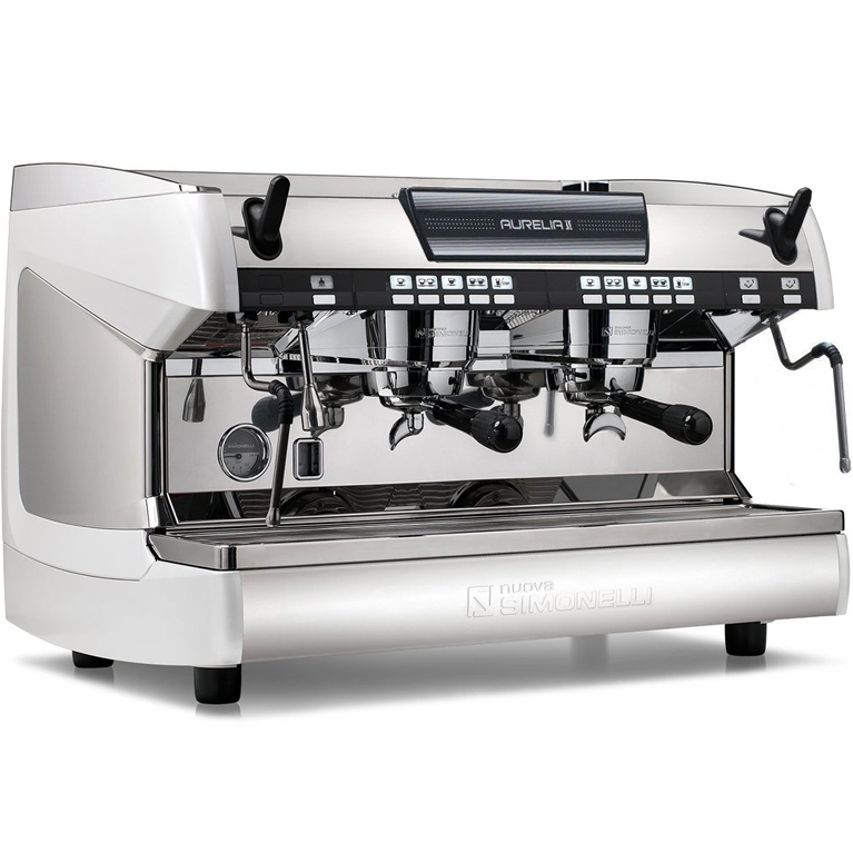 Кофемашина Nuova Simonelli Aurelia II Vol 2 gr pure white+high gr+LED