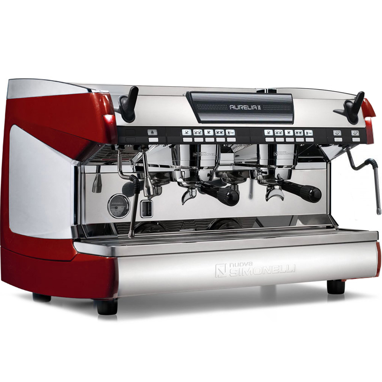 Кофемашина Nuova Simonelli Aurelia II Vol 2 gr red+high gr+LED