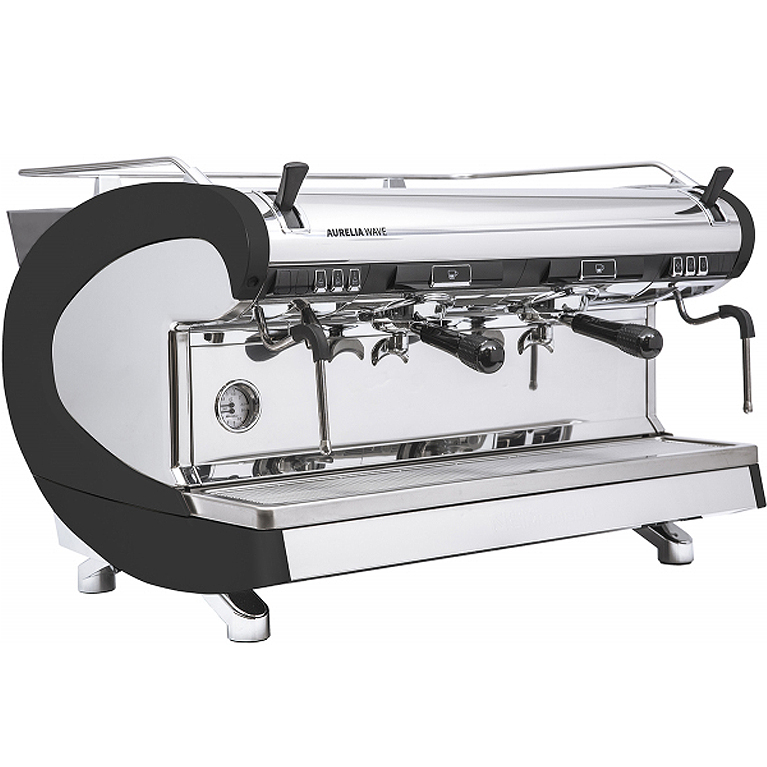 Кофемашина Nuova Simonelli Aurelia WAVE 2 GR S Black+high groups+LED