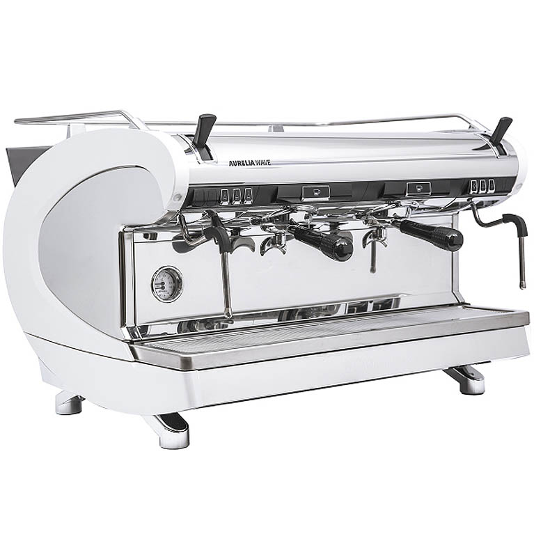 Кофемашина Nuova Simonelli Aurelia WAVE 2 GR S pearl white+high groups+LED