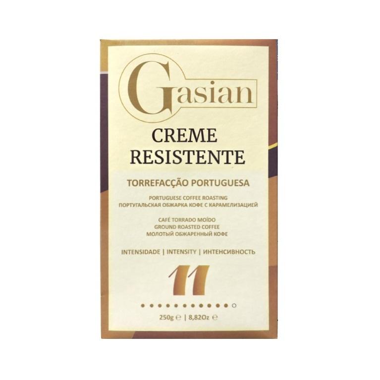 Кофе молотый Gasian Creme Resistente