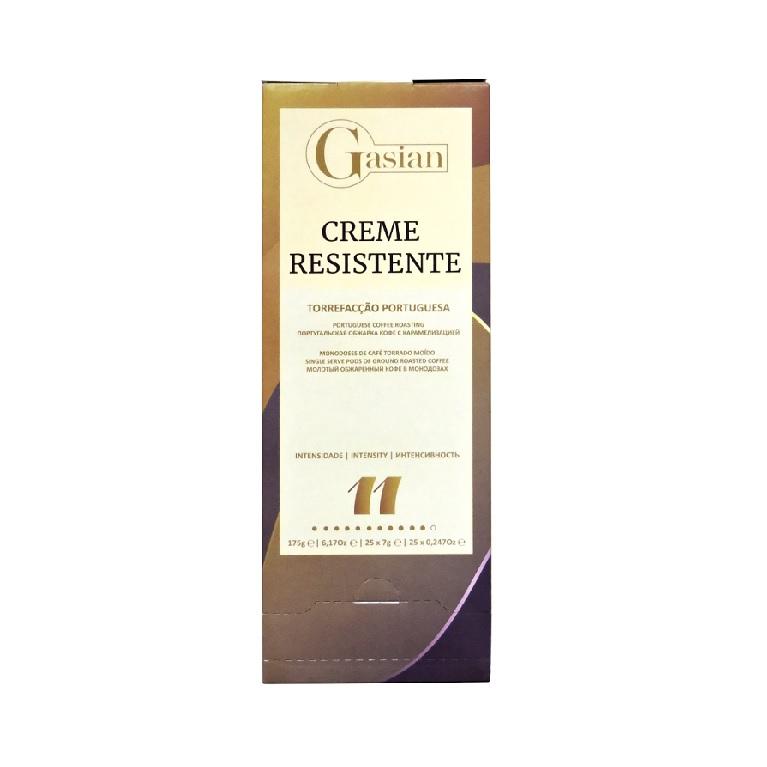 Кофе в чалдах Gasian Creme Resistente